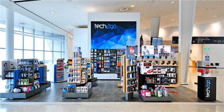 Electronic Store Design - Custom Mobile Cell Phone Shop Interior Design