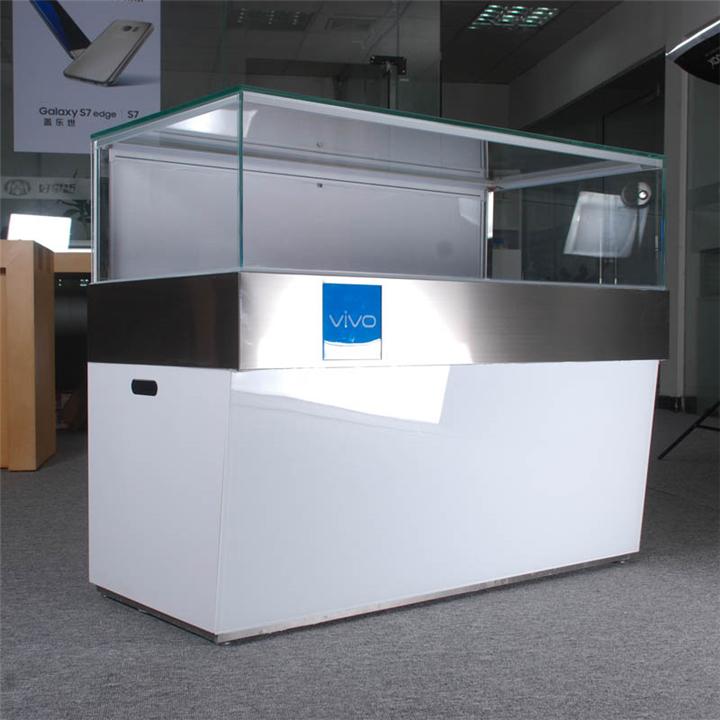 Vivo Mobile Phone Display Cabinet Custom Mobile Cell