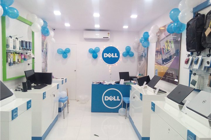 037 Dell Classic Laptop Boutique Store Custom Mobile Cell Phone Shop Interior Design