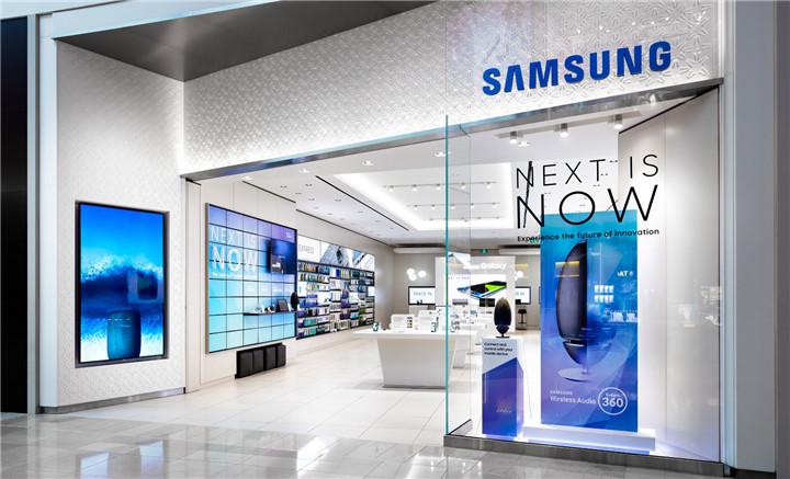 047 Samsung Experience Store Interior Design Custom