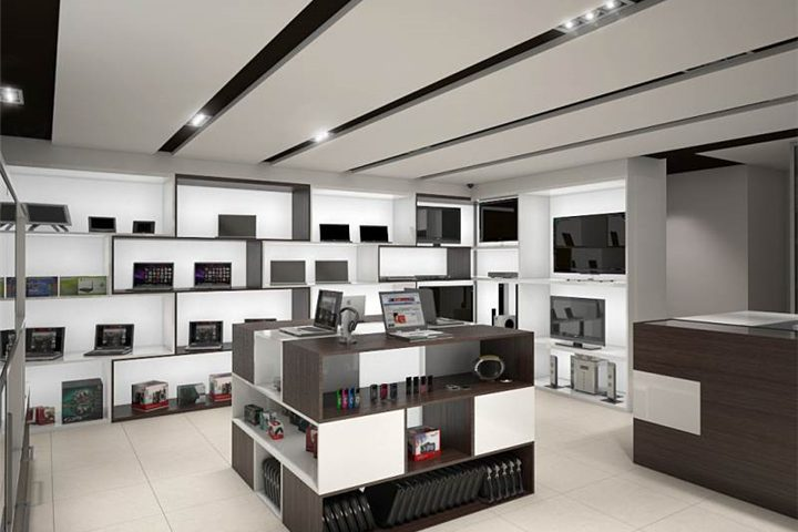 Design Ideas - Custom Mobile Cell Phone Shop Interior Design