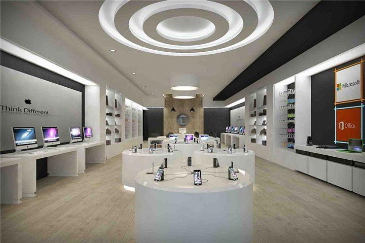 028 Small Cell Phone Accessories Store Interior Design - Custom ...